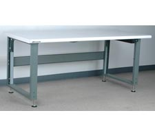 Bullnose Laminate Top Electric Adjustable Height Workbench