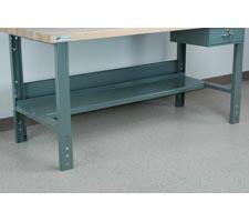 Half-Shelf Bottom Workbench Shelf
