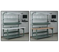 Mr. Fix-it Preconfigured Packing Station - Bullnose Laminate and Maple Top