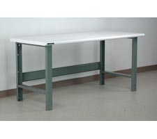 Standard Bullnose Laminate Top Workbench