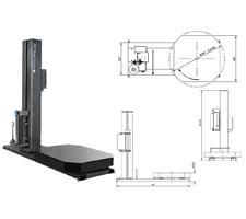 Basic Model Hi-Profile Semi-Auto Stretch Wrapper