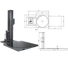 Basic Model Lo-Profile Semi-Auto Stretch Wrapper