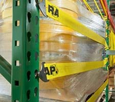 Pallet Rack Safety Straps