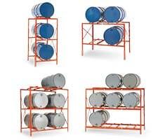 Industrial Drum Storage Racks