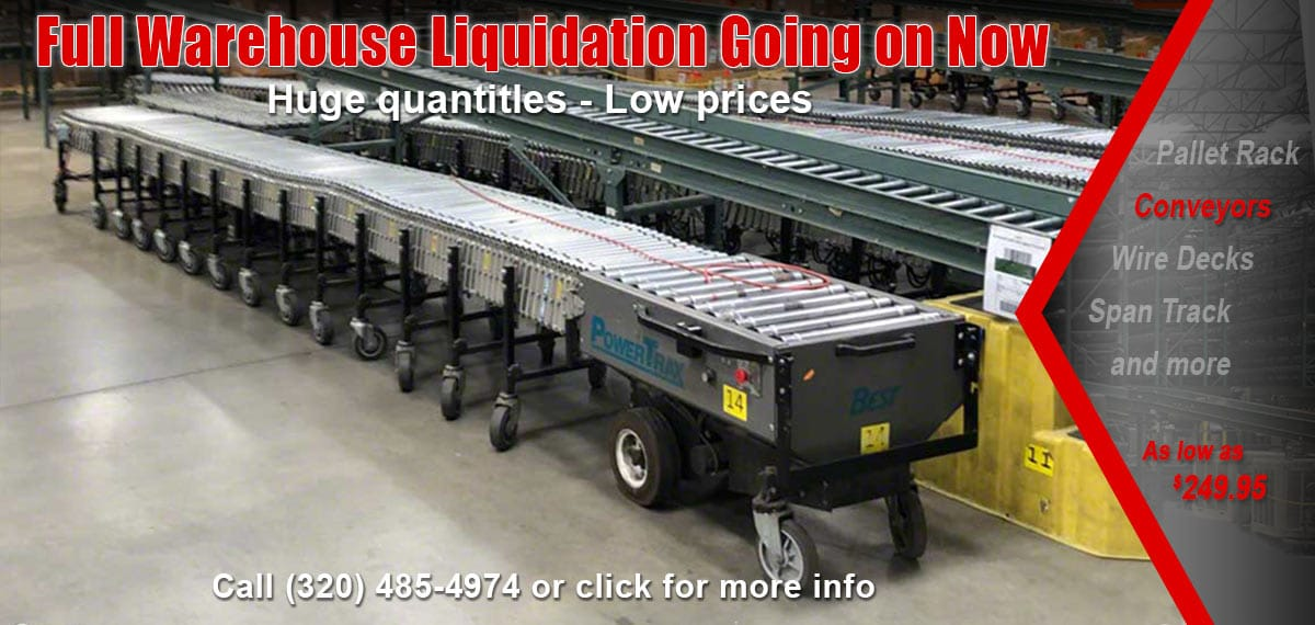 Flexible & Extendable Conveyors (New & Used) | SJF com