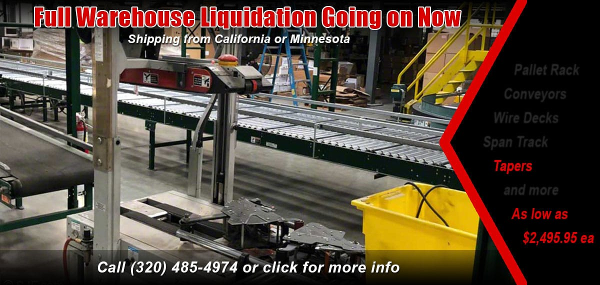 Case tapers warehouse liquidation