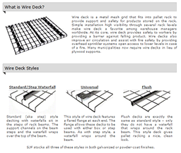 Wire Deck Worksheet