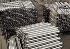 conveyor rollers, galvanized conveyor, gravity conveyor rollers, drop-in rollers