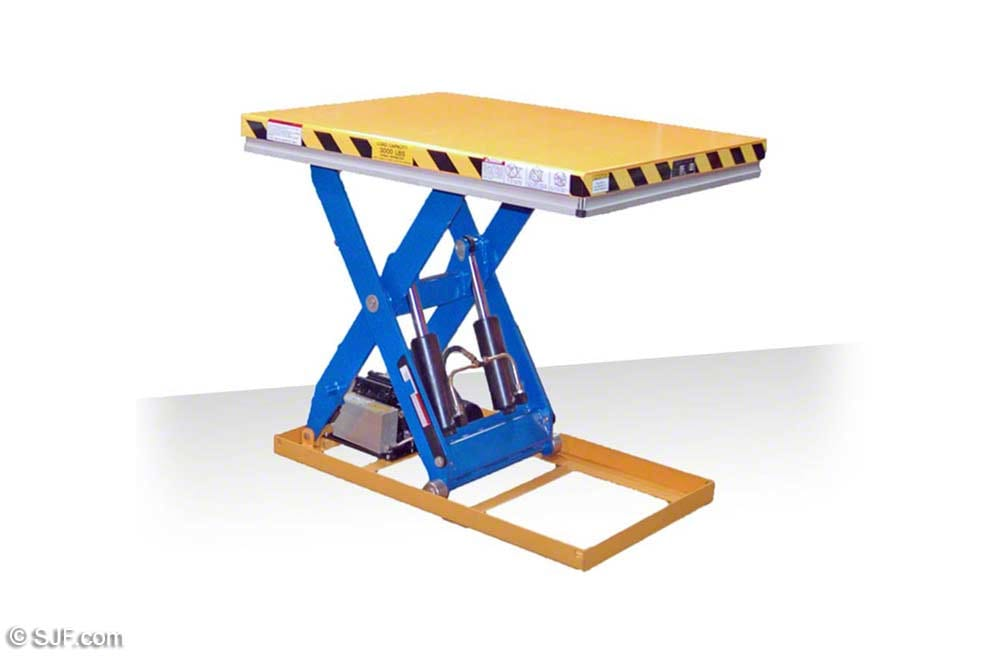 Autoquip Lift Table - Raised