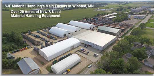 SJF Material Handling's Winsted Location