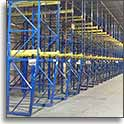 Structural Drive-In Rack at SJF Material Handling