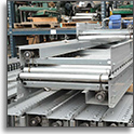 Automotion Lineshaft Conveyor With New Bands at SJF Material Handling