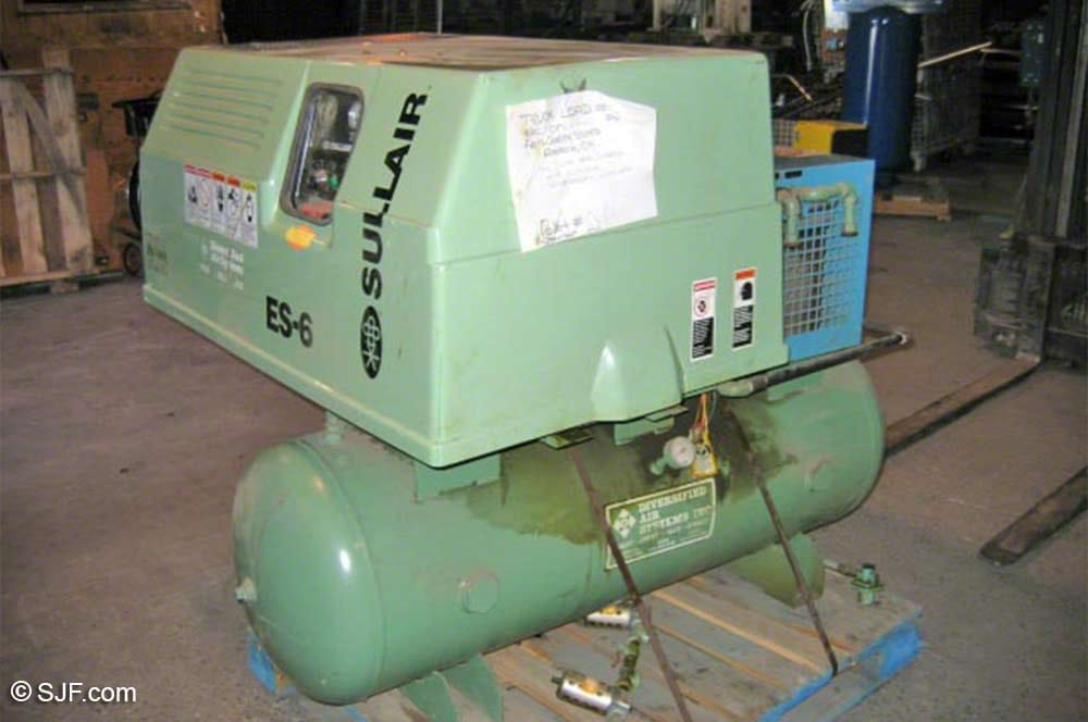 Used Air Compressors For Sale   SJF com