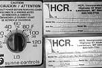 HCR Air Door - Controls and NamePlates