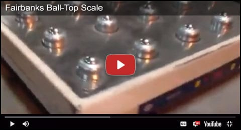 Fairbanks Ball-Top Scales