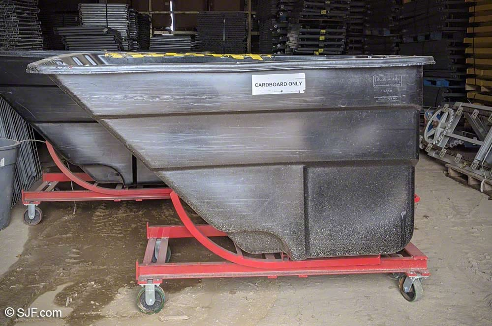 Rubbermaid Hoppers Side View