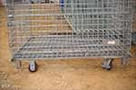 Wire Mesh Baskets with casters
