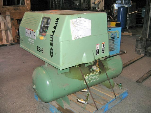 Diversified Sullair with Arrow Dryer - Ref 08