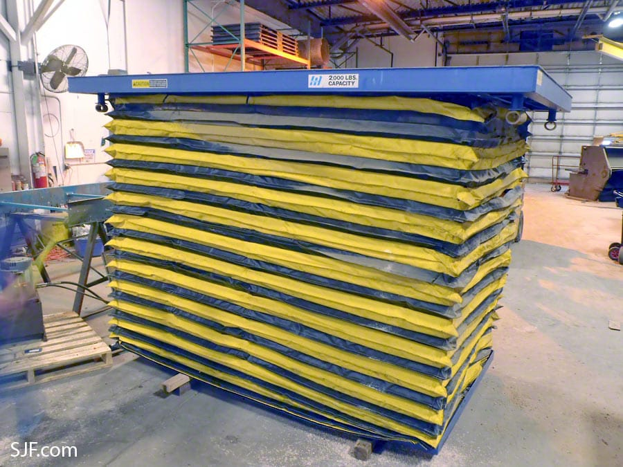 Scissor Lift Tables For Sale New Amp Used Sjf Com