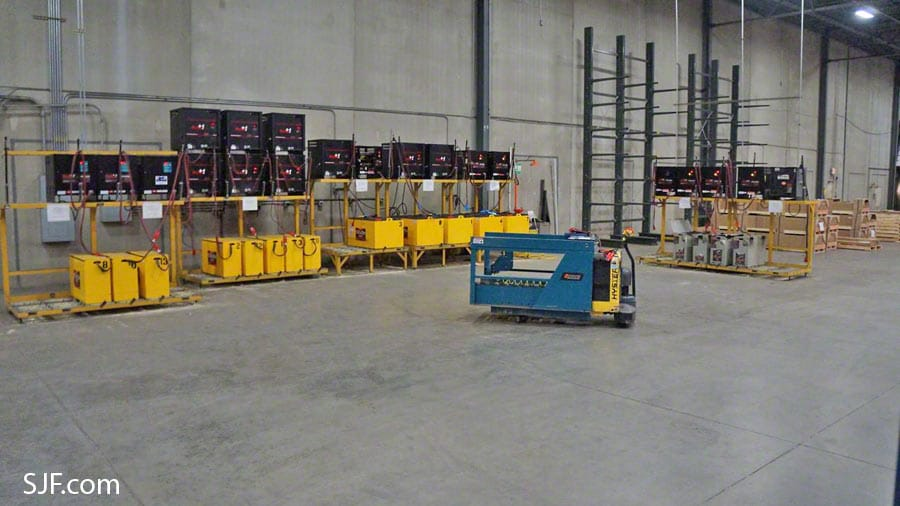 Battery Warehouse Direct : Used forklift batteries battery chargers sjf