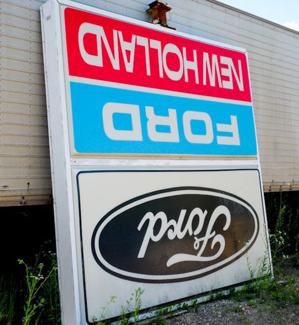 Ford Lightbox Sign