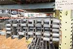 Lot 11 - Steel Roller Pallet Flow