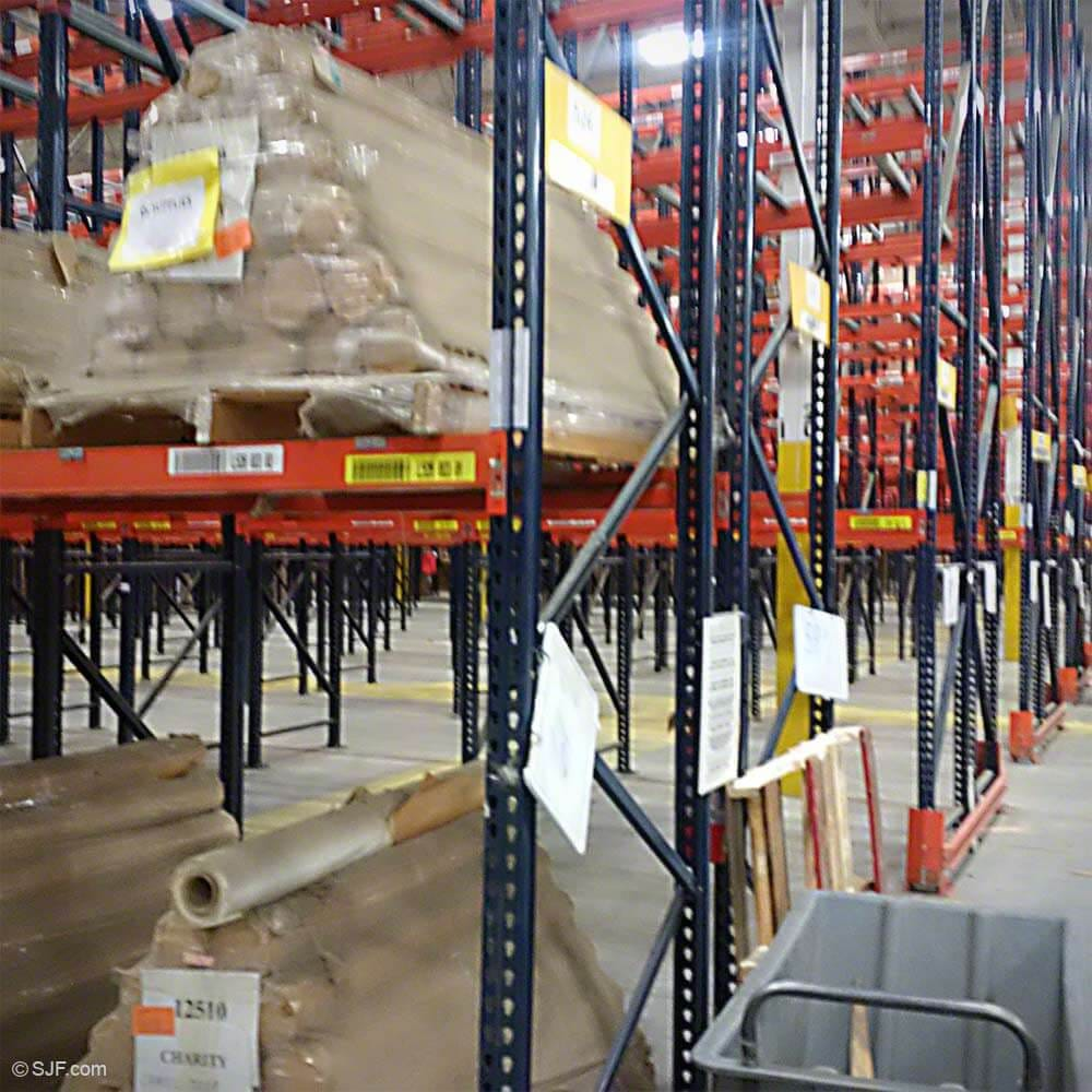 material rows warehouse stock racks storage in carolina back from solutions teardrop pallet handling view to install rack angle