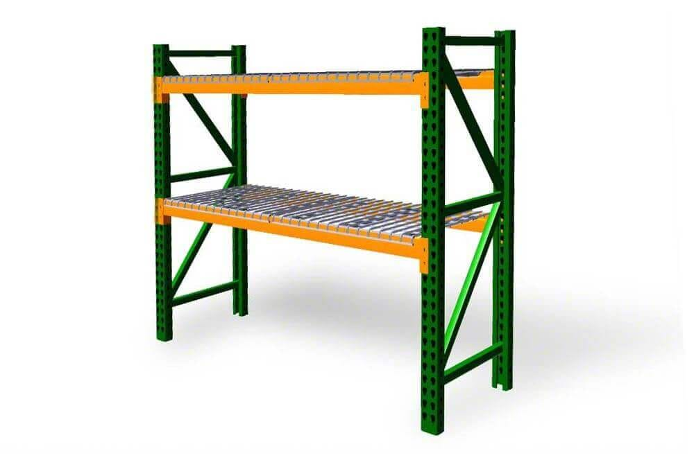 New teardrop pallet shelving kits