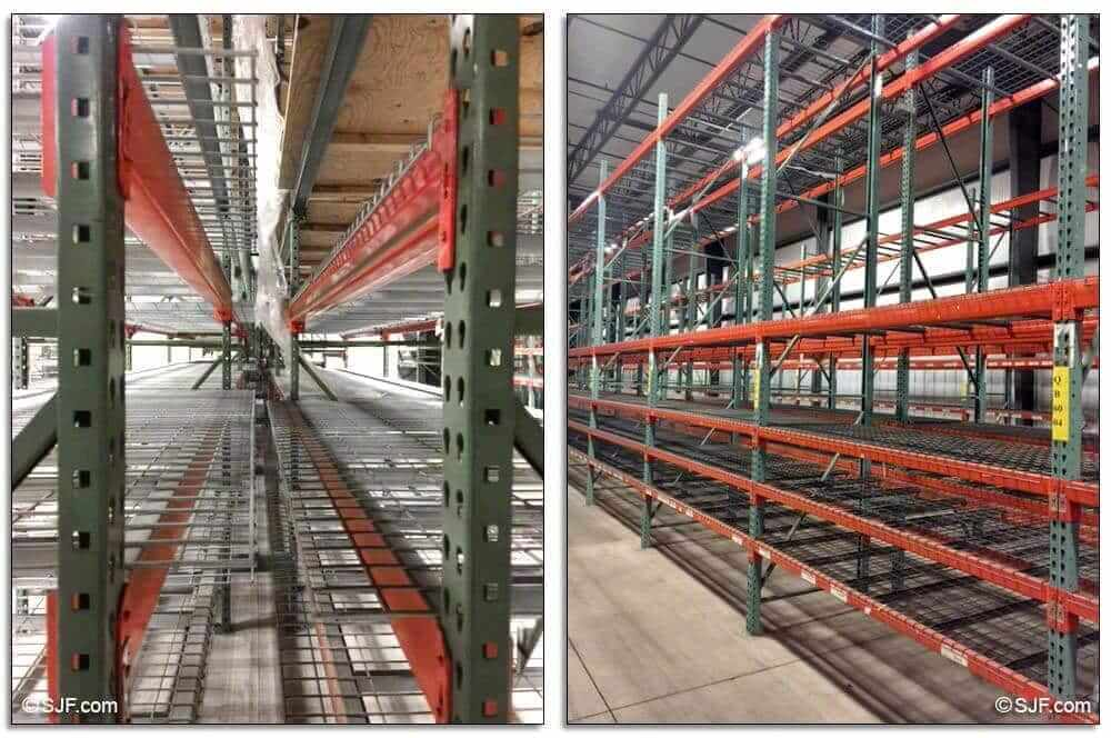 Used Pallet Racking for Sale – Buy Warehouse Pallet Racks at SJF com