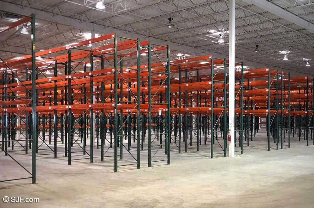 High Quality UsedTeardrop Pallet Racking System