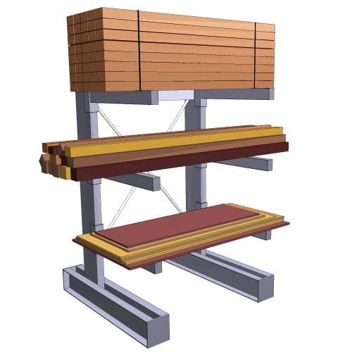 Cantilever Storage Racks, New & Used (Buy & Sell) | SJF.com