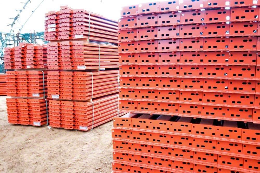 SJF Pallet Rack Step Beams