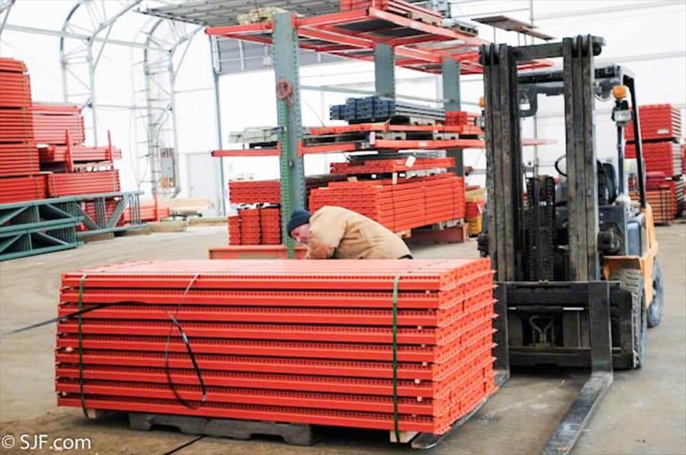 Interlake Pallet Rack Beams