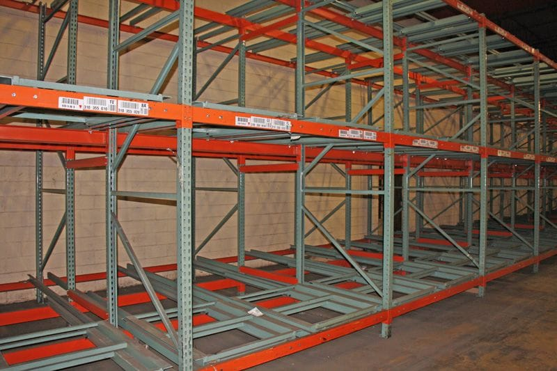 Interlake racking system in MN