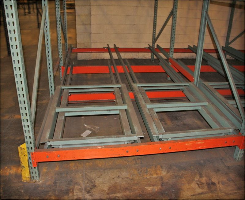 Photo of Interlake rack carts