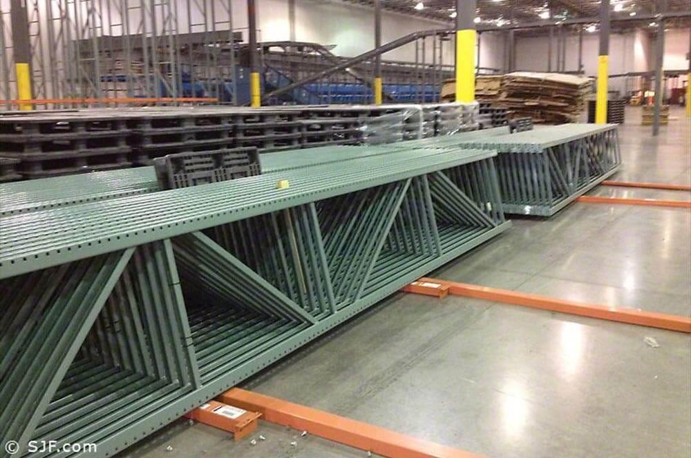Interlake Pallet Rack Uprights