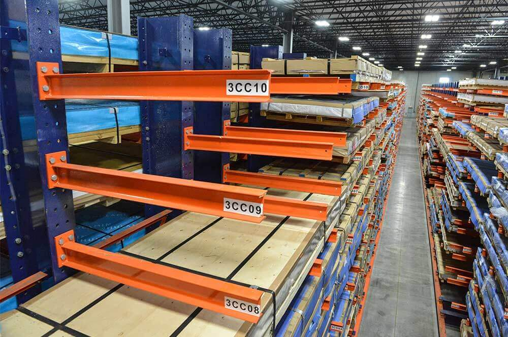 New & Used Cantilever Lumber Storage Racking System
