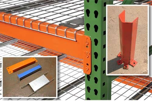 New & Used Pallet Racking Accessories