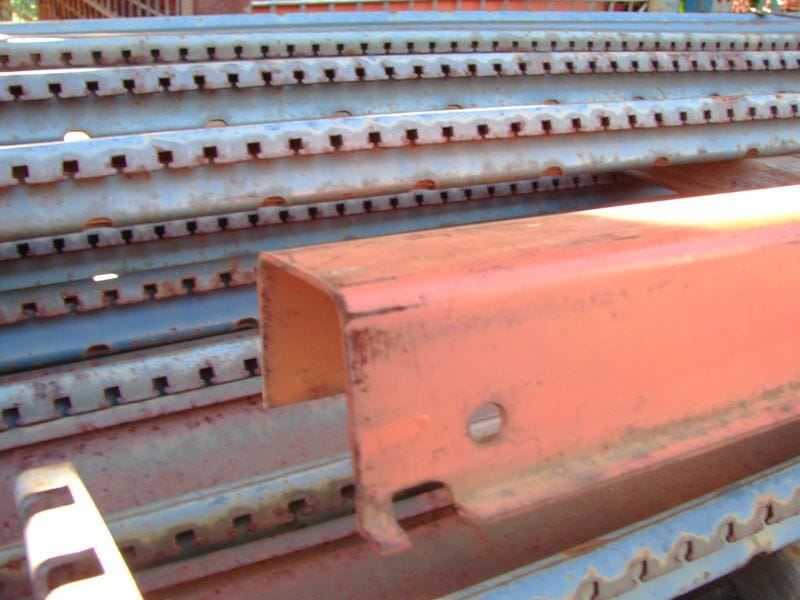 Closeup of Pallet Support