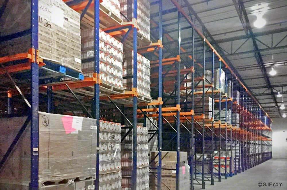 Steel King Drive In Pallet Racking System