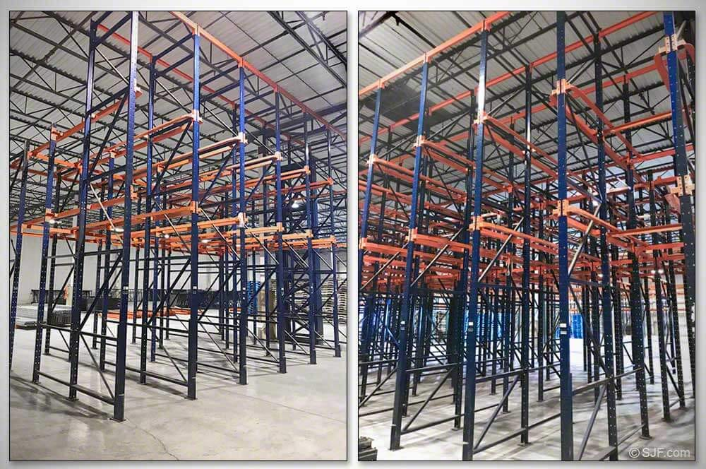 Steel King Drive In Racking System