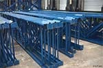Structural Pallet Rack Uprights