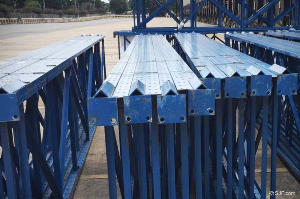 Structural Uprights for Pallet Rack