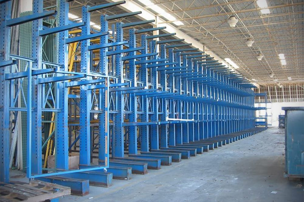 New & Used Cantilever Storage Racks