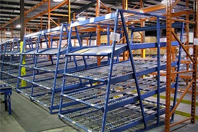 Carton Flow & Case Flow Racking Systems