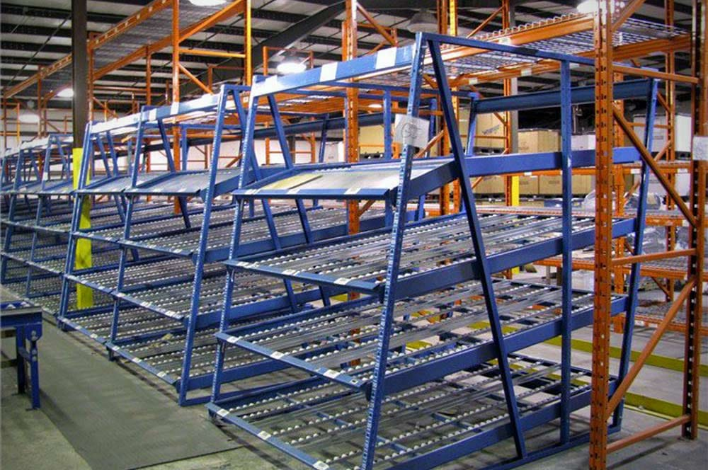 New & Used Carton Flow/Case Flow Rack Systems