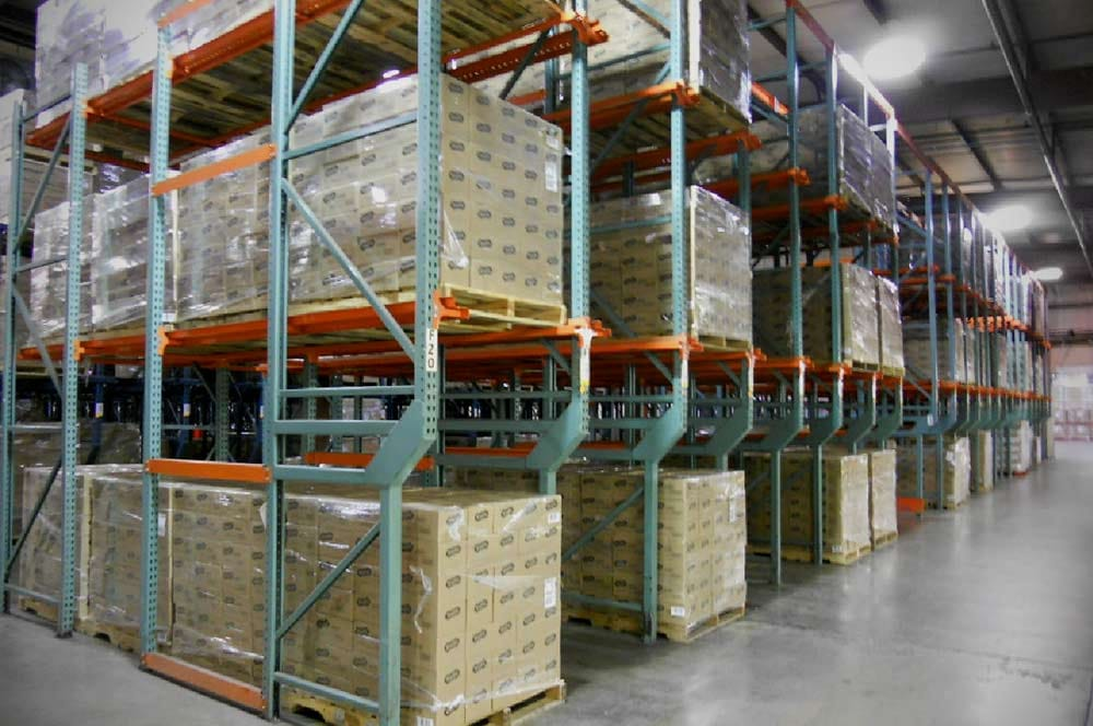 New & Used Drive-In Pallet Storage Systems
