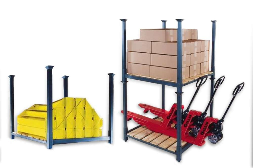 New & Used Stack Racking/Tire Racking Storage