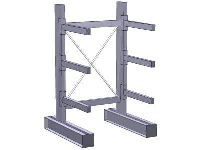 Cantilever Storage Racks New Amp Used Buy Amp Sell Sjf Com