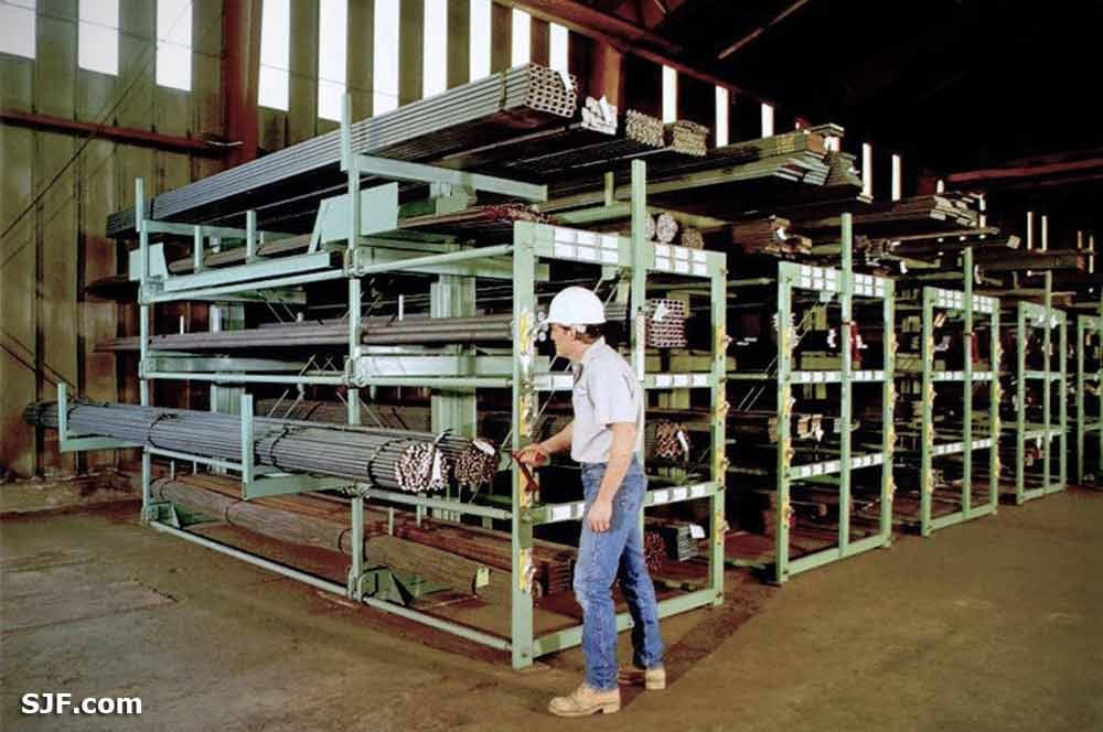 Spacesaver Roll-out Racks